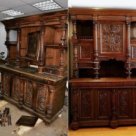 Реставрация и восстановление мебели в Москве