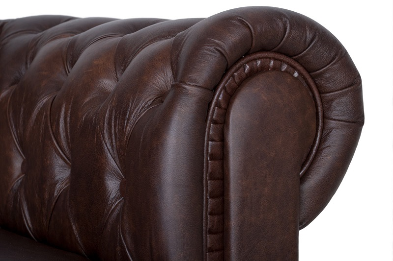 Обивка диванов кожей