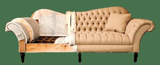 Перетяжка и ремонт диванов 2