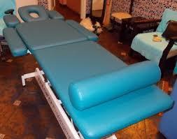 Перетяжка и реставрация медицинской мебели