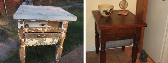 Реставрация мебели из массива