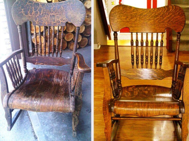 Виды реставрации мебели